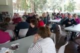 Bush Poet Breakfast audience