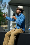 Miles Merrill Host of the Poetry Slam
