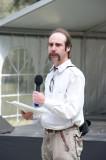 Poetry Slam contestant