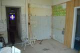 demolishing the dining room