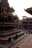 Krishna Mandir just after dawn