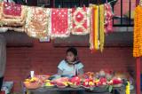 Stall outside Kumbeshwor Temple