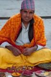 Temple pundit, Pashupatinath, Kathmandu