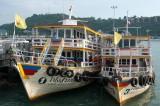 Charter boats at Pattaya