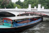 Vessel nearing the Mahathai U Thit Bridge