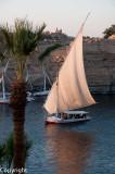 Felucca cruise on the Nile