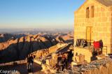 Chapel at the summit of Mt Sinai