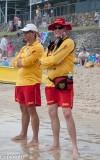 Keeping watch, Mooloolaba Beach