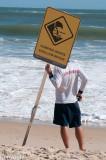Surf warning, Mooloolabah