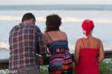 Watching the surf, Alexandra Headland, Christmas Day