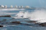 Breakers off Alexandra Headland