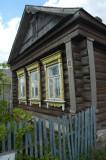 Village Izba, or cottage