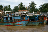 Fishing vessels at My Tho