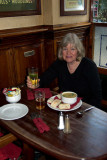 Lunch at the Cumberland Bar