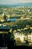 Edinburgh from the Castle parapets