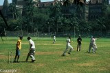 One of Mumbai's downtown Maidans, or playing fields