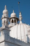 Spires and domes of the Haji Ali Mosque