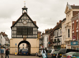 The old town hall at High Town, Bridgnorth