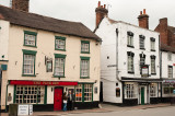 Old-world pubs at Low Town, Bridgnorth