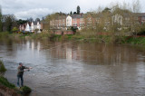 Fly fisherman at Bewdley