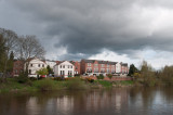 Storm clouds over the Severn at Bewdley