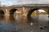 Telford's bridge across the Severn at Bewdley