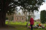 Churchyard at Ombersley