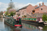 Canal boats at Stourport-on-Severn