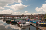 Canal boat basin at Stourport-on-Severn