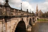 Spanning the Severn at Shrewsbury