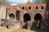 Remains of a foundry at Blists Hill, Ironbridge