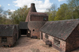 Ceramics kiln and works at Coalport on the Severn