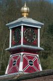 Iron clocktower at Coalbrookdale