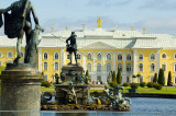 The Grand Palace at the Peterhof or Petrodvorets