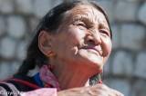 Waiting for the Dalai Lama, Ladakh, India