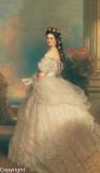 The 1865 Winterhalter portrait of the Empress Elisabeth