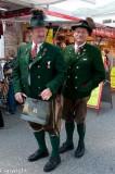 Traditional garb in Bad Ischl, Austria