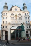 Building in the Innere Stadt (Inner City), Vienna