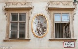 Facade of a building in the Innere Stadt, Vienna