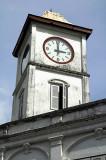 Clocktower on the Chartered Bank corner, Phuket Town