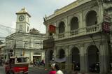 Chartered Bank corner in Phuket Town