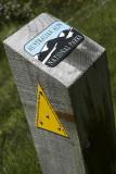 Australian Alps Walking Trail marker