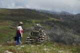 Memorial to a mountain cattleman