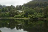 Bogong Village reflected in Lake Guy