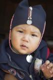 An Akha infant outside Kengtung, Myanmar