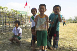 School's out for these hilltribe children, outside Kengtung