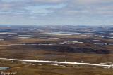 Tundra at Kugluktuk, aerial view - Toendra bij Kugluktuk vanuit de lucht gezien