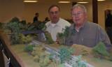 John and Wayne discuss scenic elements.