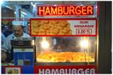 Cheap hamburgers.