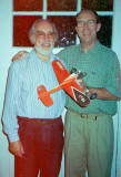 Ray and Dave Smith with Dave's Replica Nipper 2